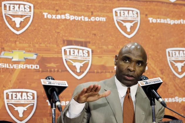Charlie Strong Faces Tough Task Trying to Win over Texas High School Coaches