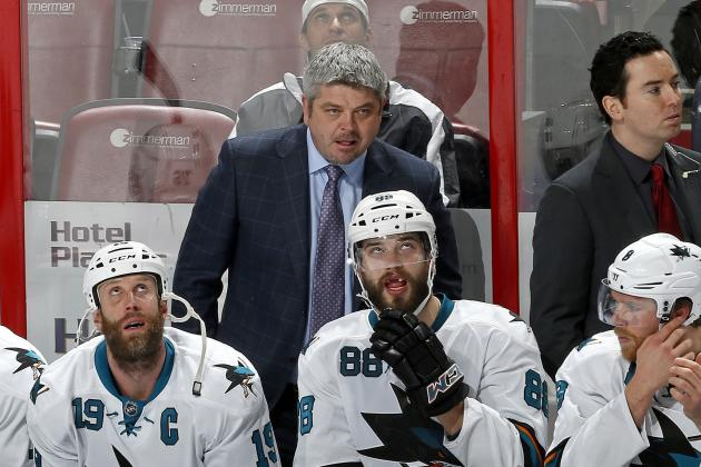 Peverley's Event All Too Familiar to Sharks' McLellan