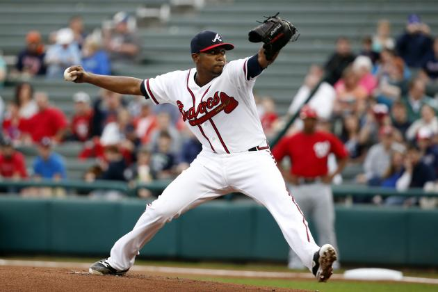 Welcome Sight for Braves: Teheran 4 Perfect Innings