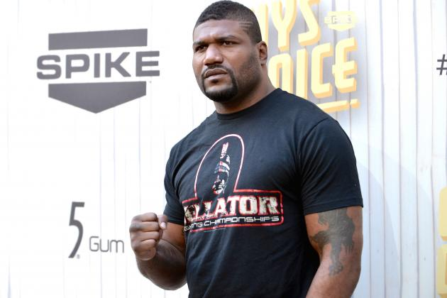 Quinton 'Rampage' Jackson Meets King Mo in Co-Main Event at 1st Bellator PPV