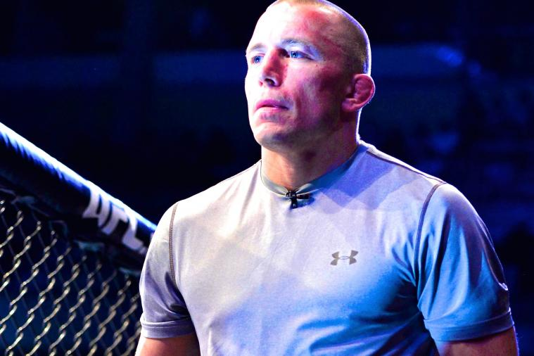 Georges St-Pierre Teases Return to MMA, Still Training Every Day