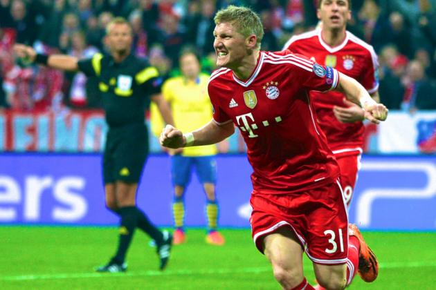 Bayern Munich vs. Arsenal: Champions League Live Score, Highlights, Report