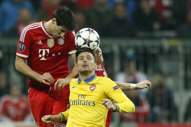 Bayern Munich vs. Arsenal: Live Player Ratings