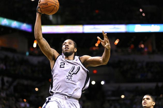 Kawhi Leonard's Resurgence Has San Antonio Spurs on Top of the NBA
