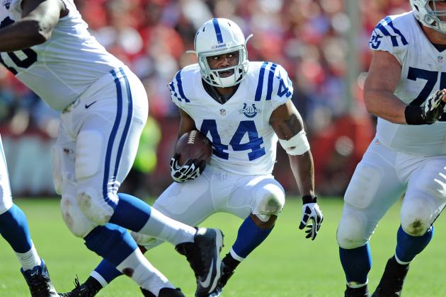 Ahmad Bradshaw Re-Signs with Colts: Latest Contact Details and Reaction