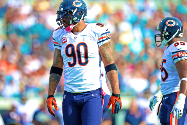 Julius Peppers Released by Bears: Latest Details, Comments and Analysis