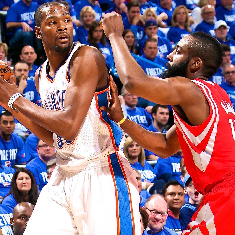 Houston Rockets Vs Oklahoma City Thunder: Houston Rockets Vs. Oklahoma City Thunder: Live Score And
