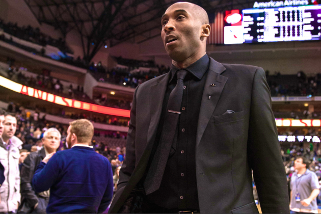 Kobe Bryant Officially Ruled Out for the Season