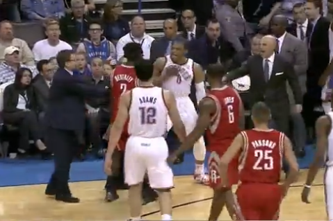 Patrick Beverley, Russell Westbrook Resume Rivalry, Scuffle Again