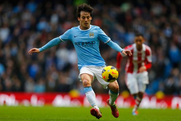 Why David Silva Will Be Key Man for Man City vs. Barcelona in Champions League