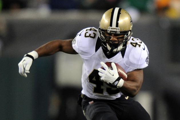 Darren Sproles Learns About Future with Saints on Twitter