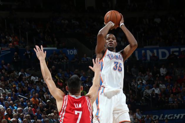 Kevin Durant Scores 25+ Pts in 29 Straight Games, NBA's Longest Run in 25 Years
