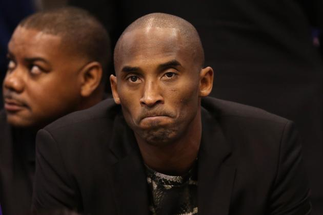 Lakers News: Kobe Bryant's Injury Status Paints Bleak Picture of Future in LA