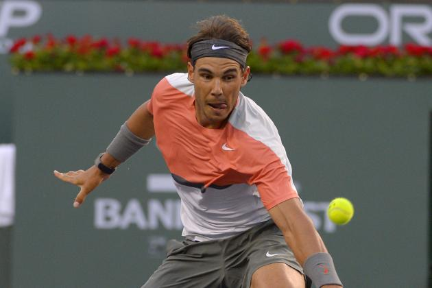 Rafael Nadal Losing Hold on No. 1 Ranking After Indian Wells Upset