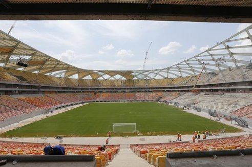 England vs. Italy World Cup Stadium Labelled 'Horrific' as Problems Mount Up