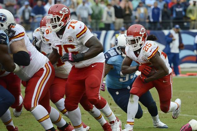 Jamaal Charles Tweets Saddest Message to Former Teammate Branden Albert