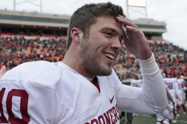 Video: Blake Bell Catches Passes at Tight End During Oklahoma Practice