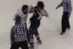 Amazing Hockey Fight Ends in High-Fives