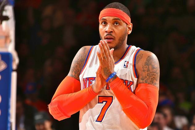 Carmelo Anthony Says Phil Jackson Won't Have Impact on Free-Agency Decision