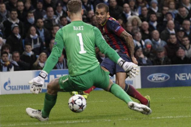 Barcelona vs. Manchester City: Live Player Ratings for Both Sides