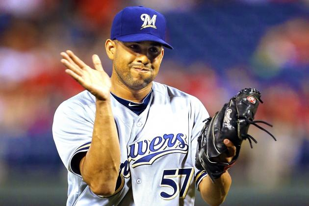 Brewers' Francisco Rodriguez Suffers Freak Injury After Stepping on Cactus