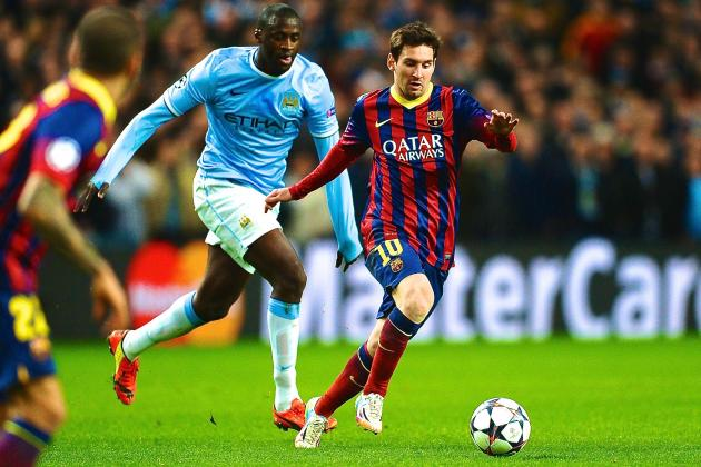 Barcelona vs. Manchester City: Champions League Live Score, Highlights, Report