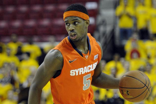 Syracuse Basketball's C.J. Fair Named Second-Team All-American