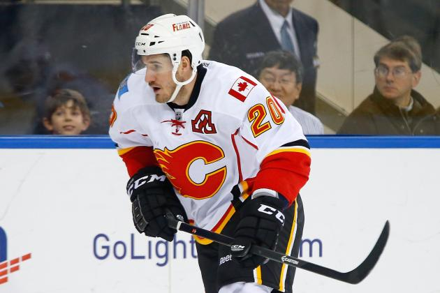 Curtis Glencross Ready to Return to Flames Lineup