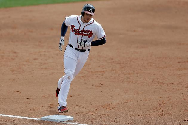 Freeman, Gattis Homer in Braves' Split-Squad Wins