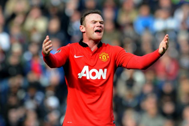 Wayne Rooney Won't Be Enough to Keep Manchester United in Champions League Hunt
