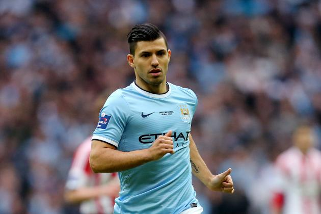 Sergio Aguero Injury: Updates on Manchester City Star's Hamstring and Return