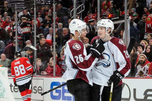 Avalanche Aim to Jump over Blackhawks in Central