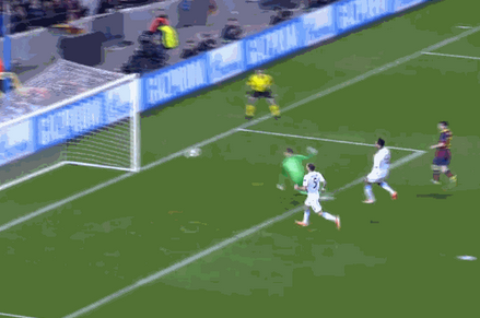 GIF: Lionel Messi Goal for Barcelona Ends Man City's Champions League Hopes