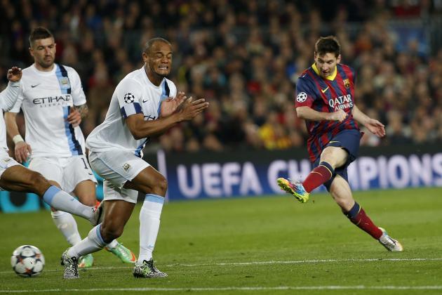 Vincent Kompany's Reaction to Barcelona vs. Manchester City