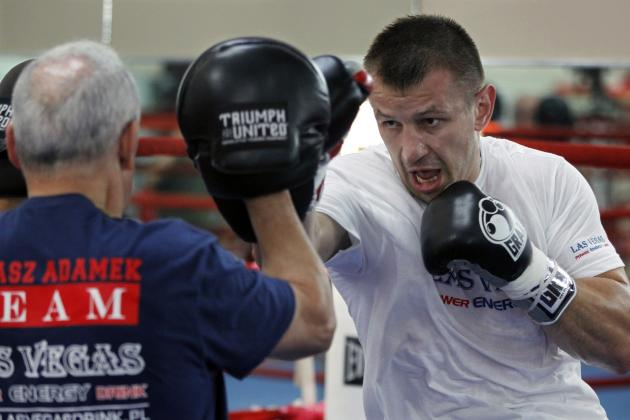 Tomasz Adamek vs. Czar Glazkov: Fight Time, Date, TV Info, Recap and More