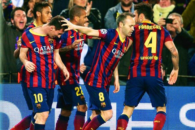 Barcelona vs. Manchester City: Score, Grades and Post-Match Reaction