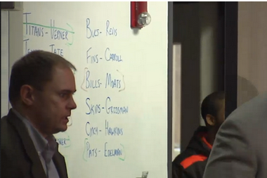Browns Might Have Accidentally Leaked Their Free-Agent Big Board During Presser