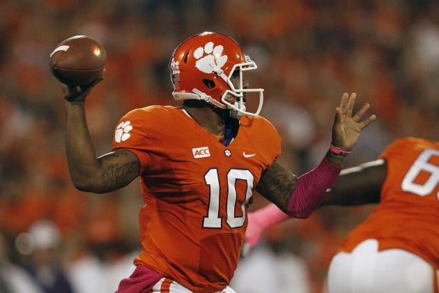 Breaking Down Tajh Boyd and His 2014 NFL Draft Prospects