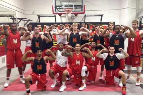 "Maryland Posts Photo of Team ""Zaching"""