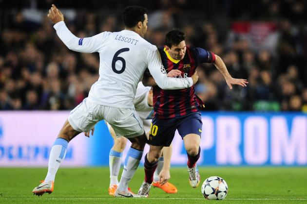 Film Focus: How Lionel Messi Preyed on Joleon Lescott's Inadequacies