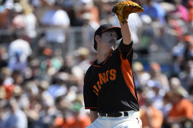 Lincecum Solid into the Fifth for Giants in Win