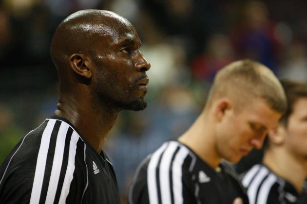Kevin Garnett's Back Injury Is a Growing Problem for the Brooklyn Nets