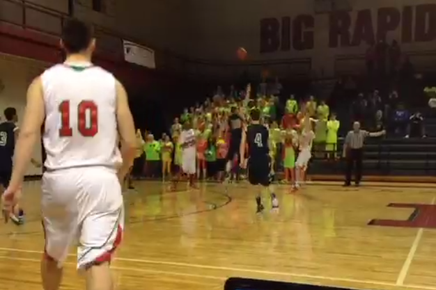 Michigan High School Player Rewarded for Tough Shot with Buzzer-Beater Win