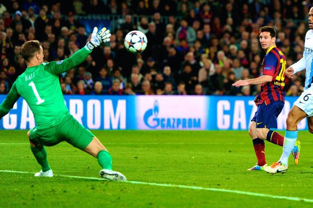 Lionel Messi Breaks Record for Most Champions League Goals for Single Club
