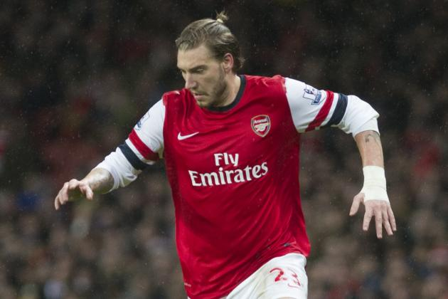Nicklas Bendtner Reportedly in Drunken Fight with Taxi Driver During Arsenal Tie