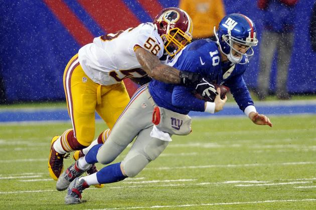 Signing of Perry Riley, Not Brian Orakpo, Key to Washington Defense in 2014
