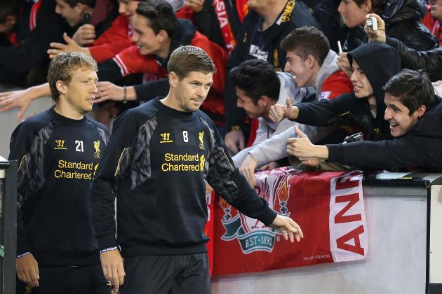 Lucas Leiva's Return Gives Liverpool Options in Midfield at Crucial Time