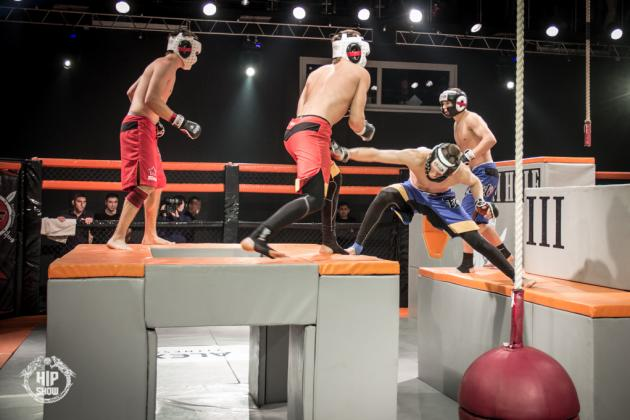 American Gladiators Meets MMA in 'Hip Show: Arena Combat' on AXS TV