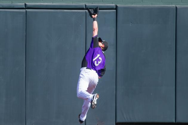 Rockies' Starting Job in Center Field Still Up for Grabs Among Four