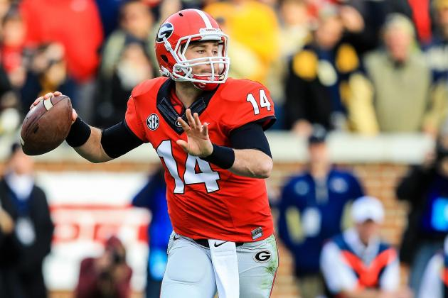 Georgia Football: What QB Hutson Mason Must Work on This Spring
